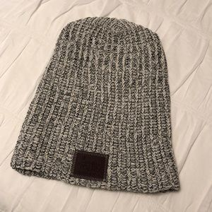Love Your Melon: black speckled beanie